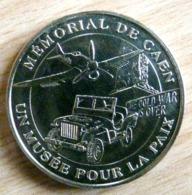 MEMORIAL DE CAEN UN MUSEE POUR LA PAIX 2004 MONNAIE DE PARIS COLLECTION NATIONALE MEDAILLE OFFICIELLE JETON TOURISTIQUE - Monnaie De Paris