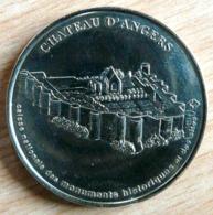 CHATEAU D'ANGERS MILLENIUM 2001 MONNAIE DE PARIS COLLECTION NATIONALE MEDAILLE OFFICIELLE JETON TOURISTIQUE - 2001