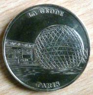 LA GEODE CITE DES SCIENCES NON DATEE  1997 OU 1998 MONNAIE DE PARIS COLLECTION NATIONALE MEDAILLE OFFICIELLE JETON - Non-datés