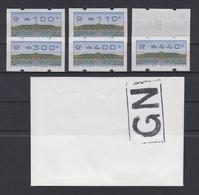 Bund ATM 2.2.3 VS2  6 Werte Postfrisch /1 - BRD
