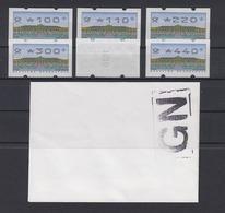 Bund ATM 2.2.3 VS2  6 Werte Postfrisch /3 - [7] République Fédérale