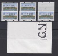 Bund ATM 2.2.3 VS2  6 Werte Postfrisch /2 - BRD
