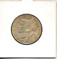Autriche. 10 Schilling. 1966 - Autriche