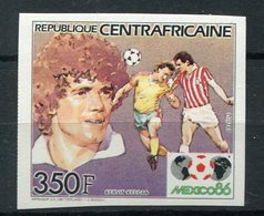 """Rep. Centrafricaine **  - ND N°  705 - """"Mexico 86"""" Foot - - Central African Republic"""