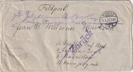 ALLEMAGNE 1915 LETTRE EN FRANCHISE MILITAIRE/FELDPOST DE MUSKAU - Germania