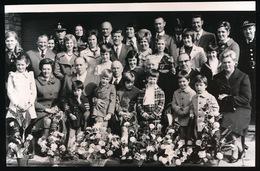 HERDERGEM   FOTO 14 X 9 CM - GOUDEN BRUILOFT   VAN DE VELDE - 1973 - Haaltert