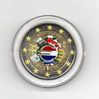 Olanda - 2012 - Moneta Da 2 Euro - Decennale Euro - Colorato - In Capsula - (MW1639) - Paesi Bassi