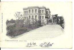 CONSTANTINOPLE / PALAIS YILDIZ (avec STAMP 1902) - Turquie