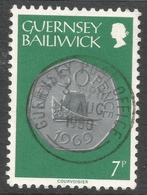 Guernsey. 1979 Coins. 7p Used. SG 183 - Guernsey