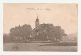 Montigny-sur-l'Ain.39.Jura.L'Eglise.1928 - Francia