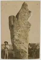 Bretagne . Carnac . Menhir De Kerzérho . Citrate Circa 1900 . - Anciennes (Av. 1900)