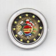 Spagna - 2012 - Moneta Da 2 Euro - Decennale Euro - Colorato - In Capsula - (MW1642) - Spagna