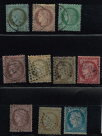 A1b-timbres De La Série  CERES Sans  Pli Ni Aminci Cote 125 Euros - 1871-1875 Cérès
