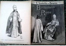 """Revue *L'ASSIETTE AU BEURRE* N°143 Du 26/12/1903 """" De BETHLEHEM à ROME """" < DE LOYOLA - Journaux - Quotidiens"""
