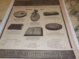 ANCIENNE PUBLICITE LES ETRENNES LA MARQUISE DE SEVIGNE 1917 - Posters
