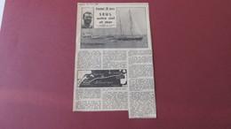 TABARLY - PLYMOUTH / NEWPORT - PEN DUICK II - COUPURE DE PRESSE Du 25 JUIN 1964. - Sin Clasificación