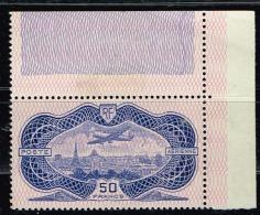 A2b-N°15 Nf ** Charnière Sur Bord De Feuille. Signé ROUMET - 1927-1959 Neufs