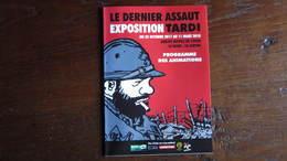 DEPLIANT Affiche LE DERNIER ASSAUT TARDI - Tardi