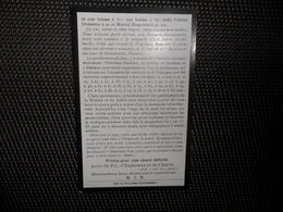 Doodsprentje ( E 848 ) 181 Paroissiens De Saint - Barthélemy à Mouscron Moekroen -  1914 - Décès