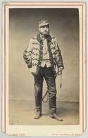 CDV Militaire Circa 1870 L. Bert à Nîmes . Guerre De 1870-71 ? Chasseur D'Afrique ? Colonel . - Ancianas (antes De 1900)