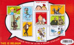 Belgium BL 201**  BD  Année 2012  2 - Blocs 1962-....
