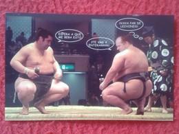ANTIGUO OLD CALENDARIO CALENDAR DE BOLSILLO MANO PUBLICIDAD ADVERTISING SUMO FIGHT LUCHA LIBRE JAPAN JAPÓN NIPPON BAR - Tamaño Pequeño : 2001-...