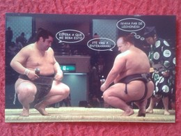 ANTIGUO OLD CALENDARIO CALENDAR DE BOLSILLO MANO PUBLICIDAD ADVERTISING SUMO FIGHT LUCHA LIBRE JAPAN JAPÓN NIPPON BAR - Calendarios