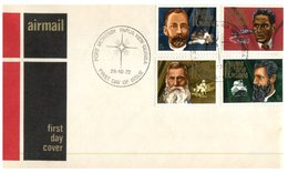 (456) Papua New Guinea FDC Cover - 1972 (3 Covers) - Papouasie-Nouvelle-Guinée