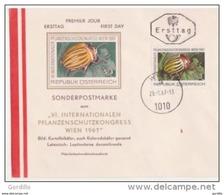 FDC (ERSTTAG) WIEN 29.8.1967 - Protection Des Végétaux  Sonderpostmarke  AUTRICHE (OSTERREICH) - - Ohne Zuordnung