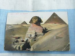 Cairo Sphinx And Pyramids Egypt - Cairo