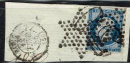 A4b-N°14 Oblit étoile + Chiffre Taxe - Marcophilie (Timbres Détachés)