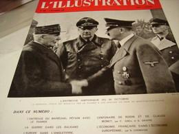 AFFICHE PHOTO MERECHAL PETAIN ET LE FUHRER 1940 - 1939-45