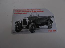 B699    Scheda Telefonica Fiat 501 - Unclassified