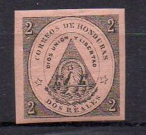 HONDURAS (  POSTE ) : Y&T N°  1  TIMBRE  NEUF  AVEC  TRACE  DE  CHARNIERE . - Honduras