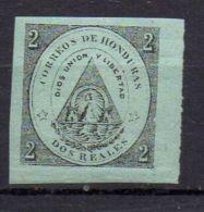 HONDURAS (  POSTE ) : Y&T N°  2  TIMBRE  NEUF  AVEC  TRACE  DE  CHARNIERE . - Honduras