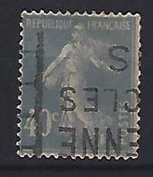 France 1927-31  Semeuse (o) Yvert 237 - 1906-38 Semeuse Camée