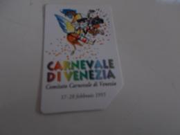 B699    Scheda Telefonica Carnevale Venezia - Telefonkarten