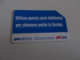 B699    Scheda Telefonica Sip - Schede Telefoniche