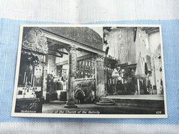 Bethlehem Interior Of The Church Of The Nativity Palestine - Palestina
