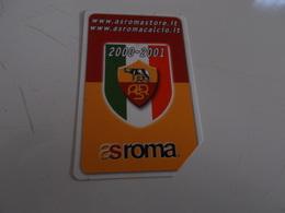 B699    Scheda Telefonica Roma Calcio - Schede Telefoniche