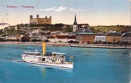 Bratislava ,  1914  -   Dunaj , Donau , Schiff , Dampfer - Slowakije