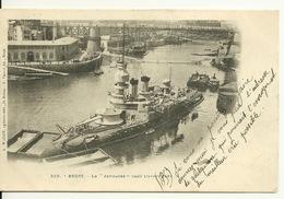 29 - BREST / LE JEMMAPES DANS L'AVANT PORT - Brest