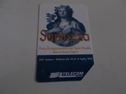 B699    Scheda Telefonica Santa Rosalia - Schede Telefoniche
