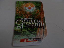 B699    Scheda Telefonica Insieme Contro Gli Incendi - Schede Telefoniche