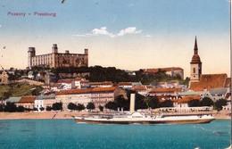 Bratislava ,  1918  -   Dunaj , Donau , Schiff , Dampfer - Slovakia
