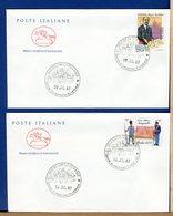 ITALIA - FDC  CAVALLINO 1987 -    GIORNATA DELLA FILATELIA - NUNZIATELLA - 6. 1946-.. Repubblica