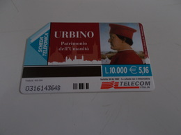 B699    Scheda Telefonica Urbino - Schede Telefoniche