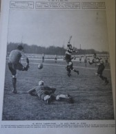 1912 RUGBY MATCH CARDIFF FOOTBALL CLUB - STADE FRANCAIS AU PARC DES PRINCE - Livres, BD, Revues