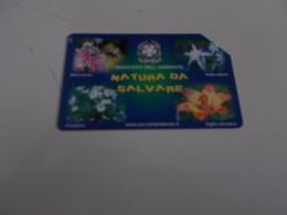 B699    Scheda Telefonica Natura Da Salvare - Unclassified