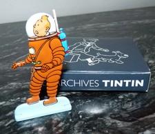 Figurine Tintin En Métal Recto Verso + Boite - Figurines